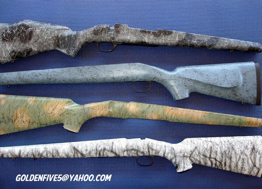 Custom Painted Rifle Stocks - Contact Information - Guns