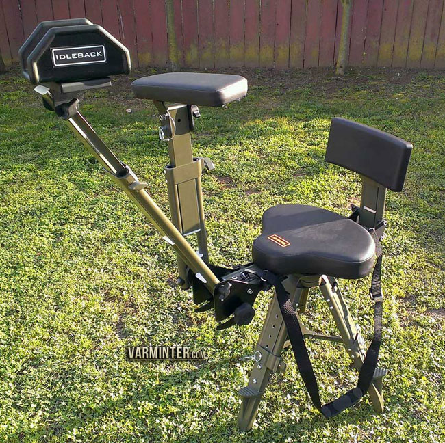 Surprising Idleback Shooting Chair Review With Hunt Clips Pdpeps Interior Chair Design Pdpepsorg