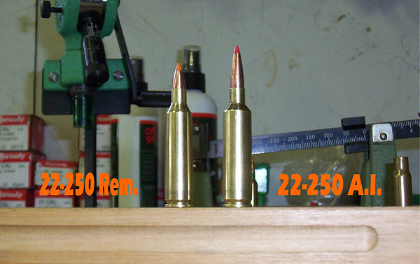 22 250 Ackley Improved Guns Loads Optics And Gear For