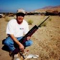 530 Yard Cottontail taken with a 17 Remington
