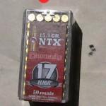 Hornady 17 HMR NTX Ammunition