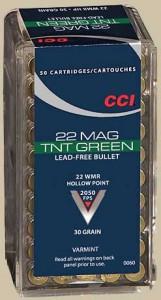 CCI TNT Green 22 Magnum