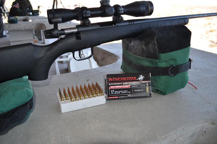 Savage .17 Super Mag Rifle