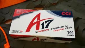 CCI 17HMR - A17 Opt Ammo