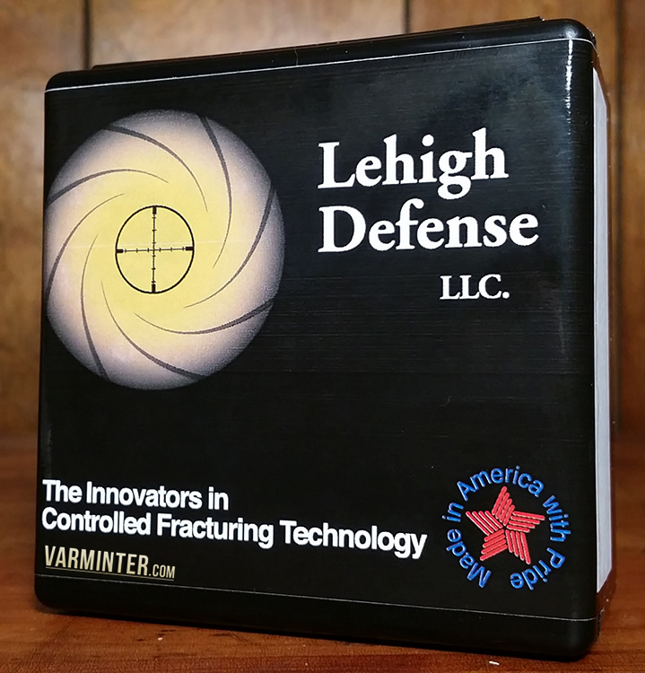 Lehigh Defense 17 Caliber Controlled Chaos Lead Free Bullet