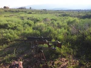 Daystate Airwolf sitting on the Caldwell Deadshot Fieldpod