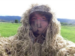 The Author in his Gillie Suit.