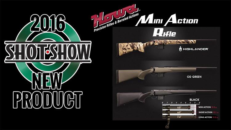 New Howa .222 Remington Mini Action Rifle