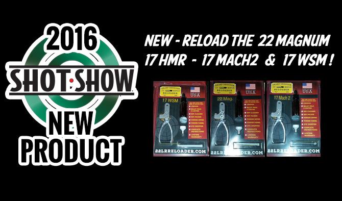 Sharpshooter 22 Long Rifle Reloader Announces New Rimfire Reloading Kits