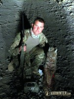 Matt & his California Desert Bobcat