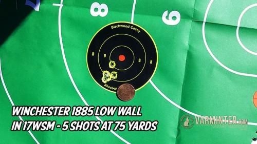 5-Shots at 75 Yards