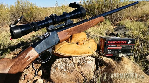 The Winchester 1885 Rifle in 17WSM