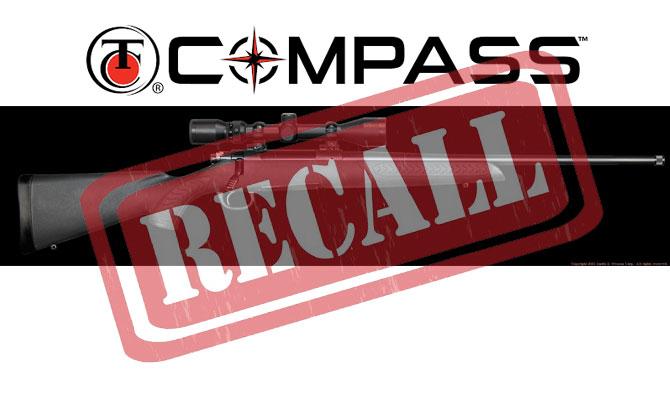 Thompson Center Recalls All Compass Rifles Made Before September 16 2016