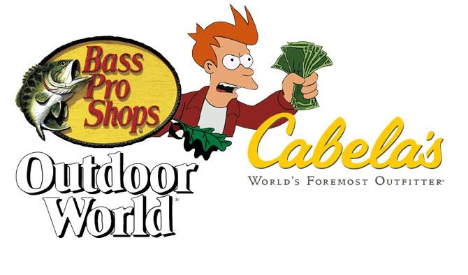 Bass Pro Shops to Buy Cabela's for 5.5 Billion Dollars