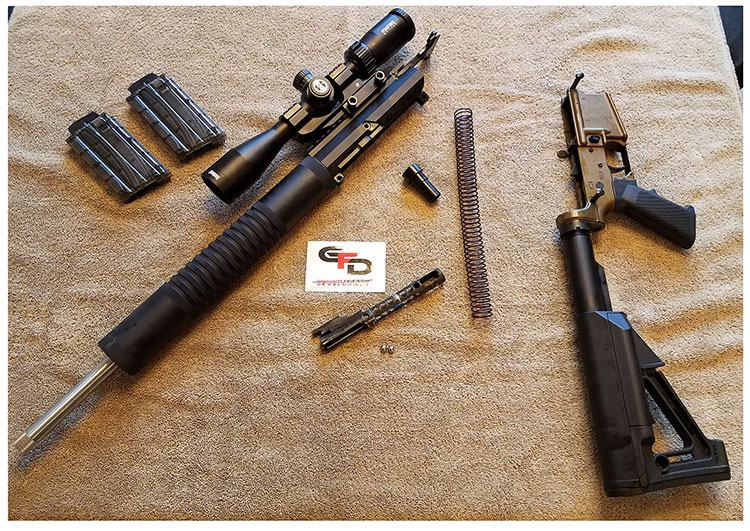 Review of The Garrow Firearms Development 17HMR AR15 - AR15
