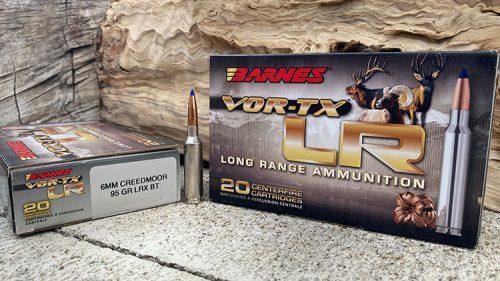 Barnes Vor-TX LR 95 grain LRX BT - 6mm Creedmoor Ammunition