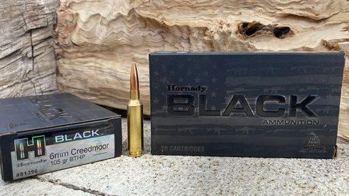 Hornady Black 105 grain BTHP - 6mm Creedmoor Ammunition