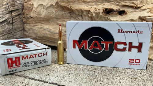 Hornady Match 108 grain ELD - 6mm Creedmoor Ammunition
