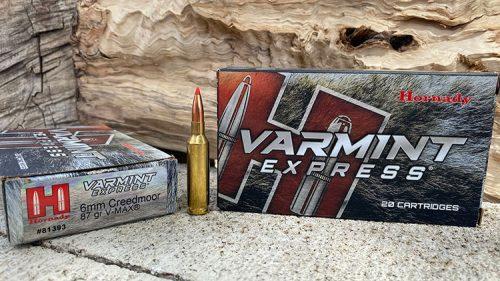 Hornady Varmint Express 87 grain VMax - 6mm Creedmoor Ammunition