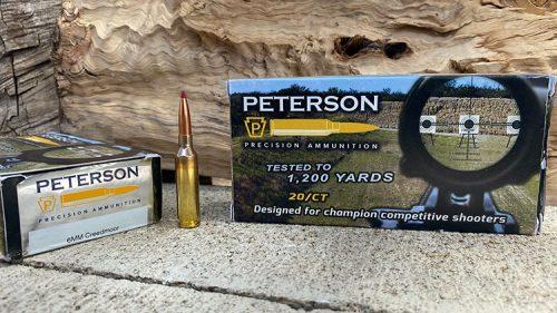 Peterson Precision 108 grain ELDM - 6mm Creedmoor Ammunition