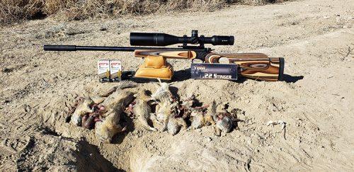 T/C Contender Carbine in 5mm Remington Rimfire